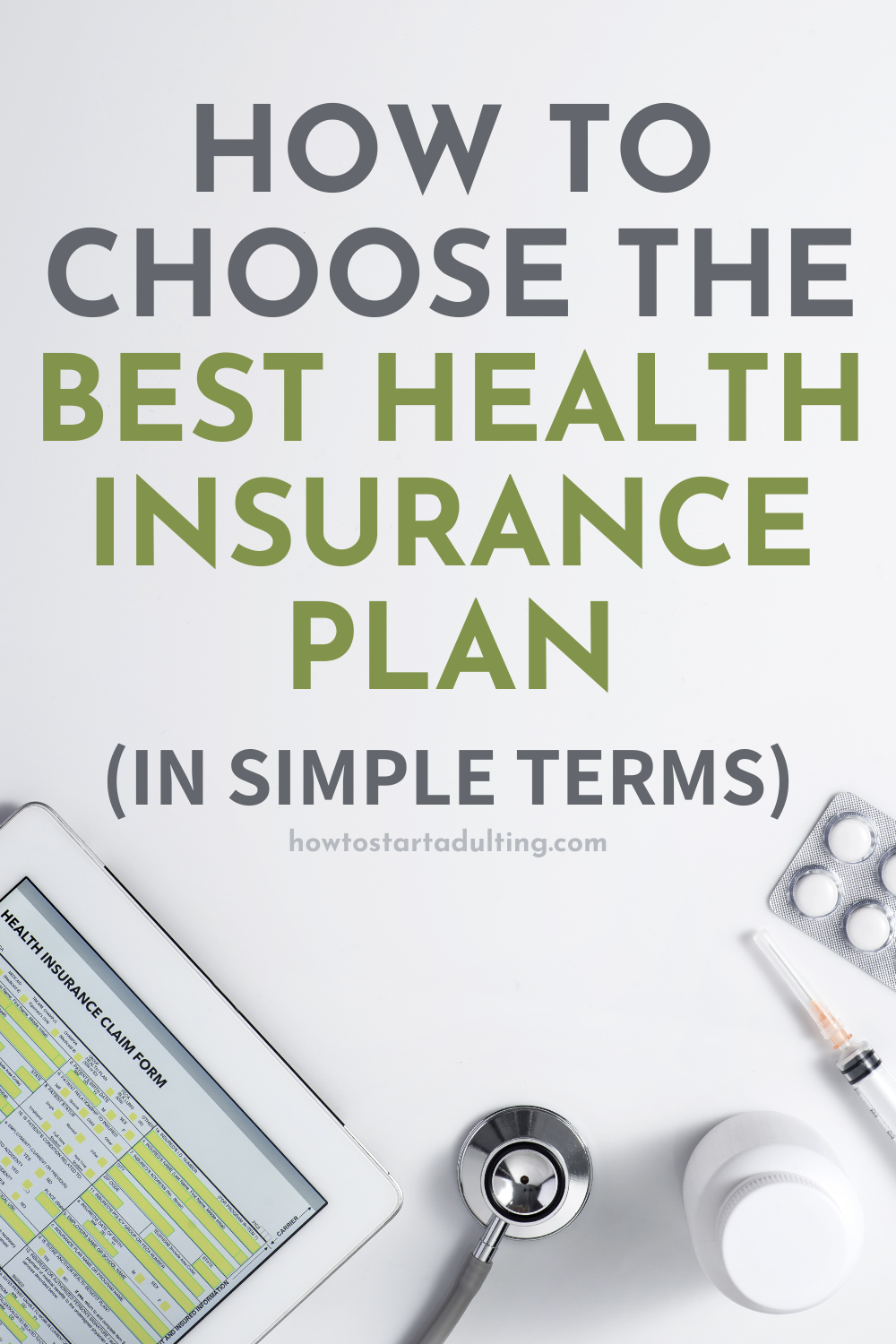 How To Choose The Best Health Insurance Plan (In Simple Terms), Comparing health care plans explained #healthcare #healthinsurance #insurance #adulting #newjob #benefits #healthcarebenefits