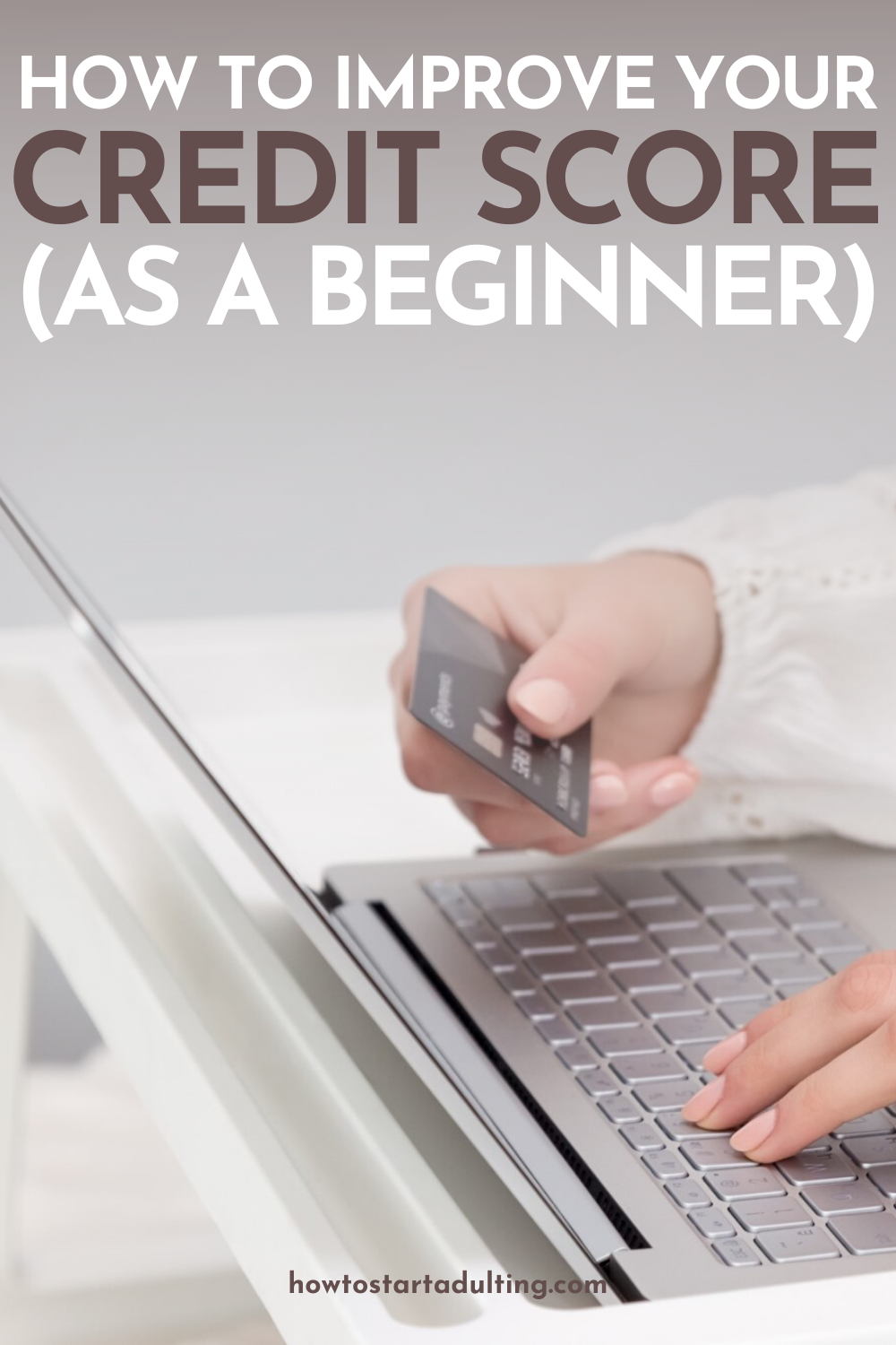 How To Improve Your Credit Score As A Beginner, tips to build and maintain good credit #credit #creditcards #creditscore #goodcredit #moneytips