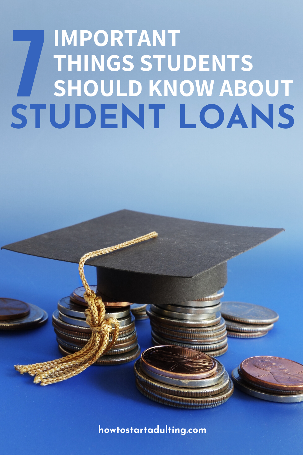 Things Students Should Know Before Taking Out Student Loans #college #collegelife #studentloans #adulting #college #collegeprep #collegestudent #highschoollife #highschoolsenior