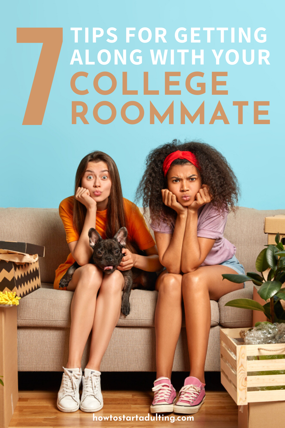 Tips For Getting Along With Your Difficult College Roommate #college #collegelife #dormlife #roommates