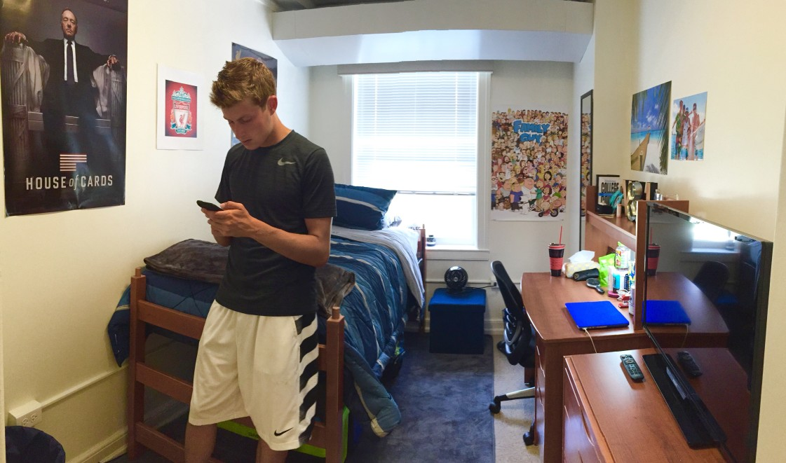 college dorm room packing tips