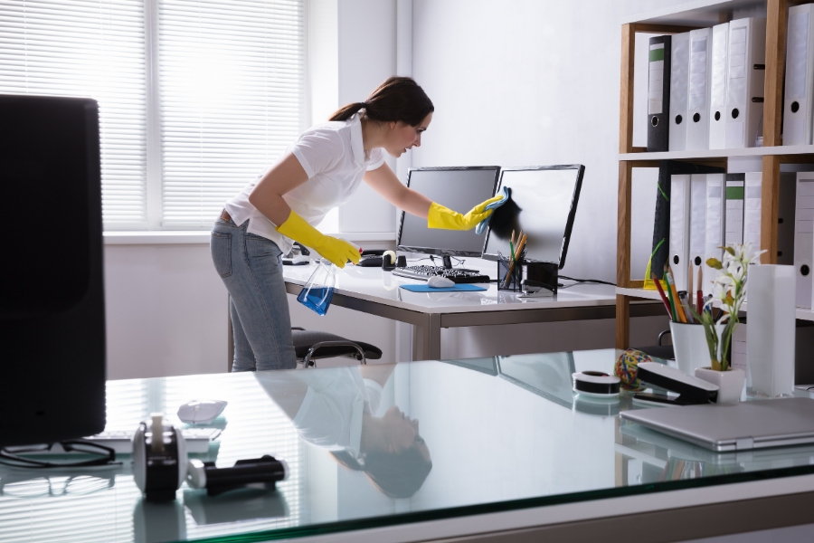 how to maintain a clean home