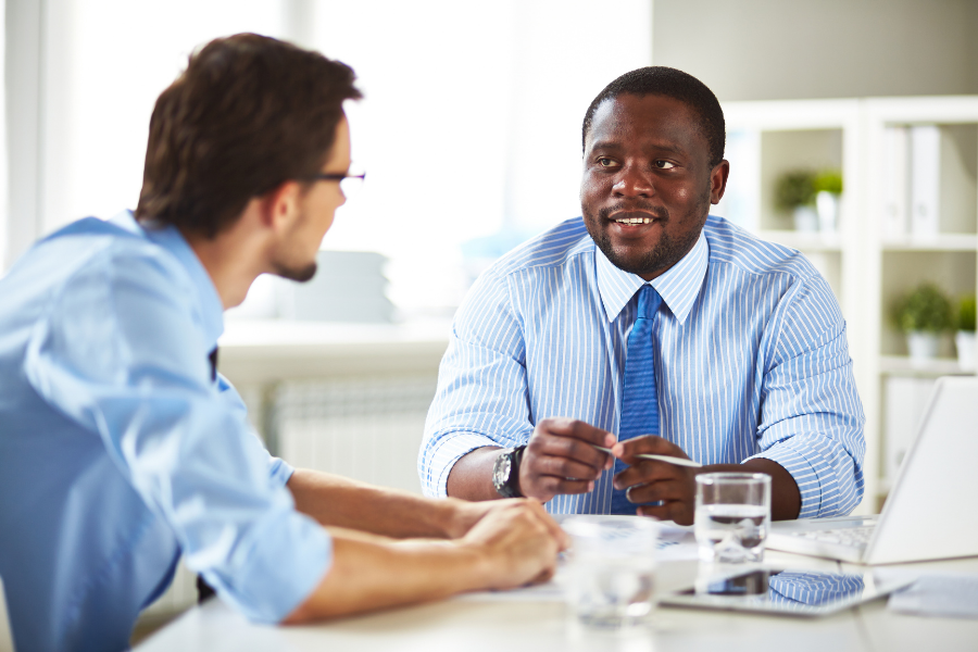 how to be calm for job interview