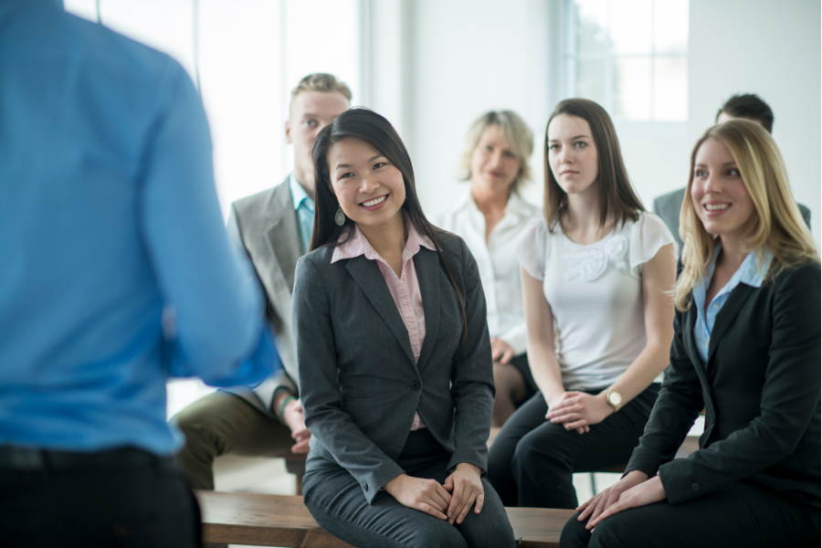 tips for group job interview