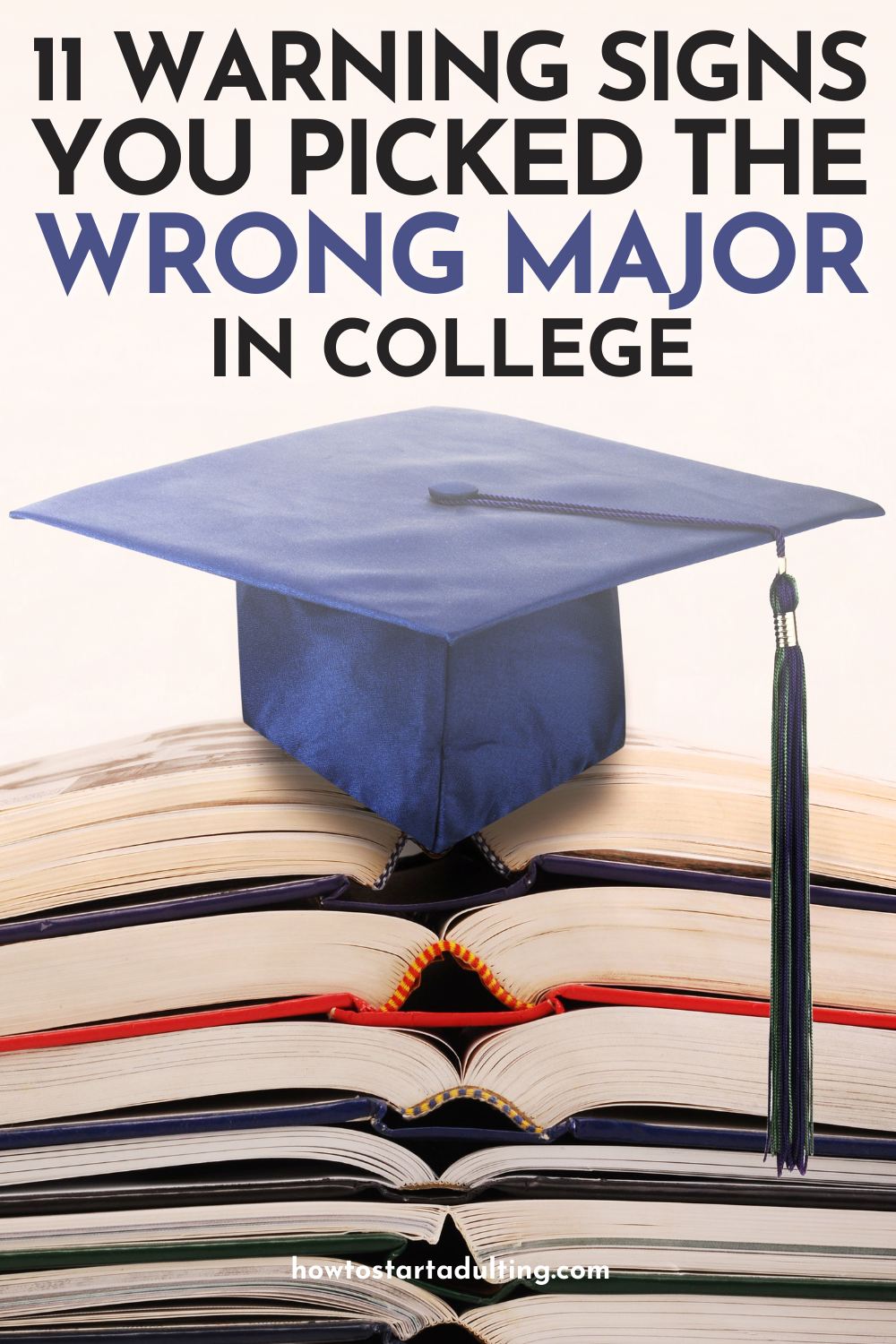 Warning Signs You Picked the Wrong College Major